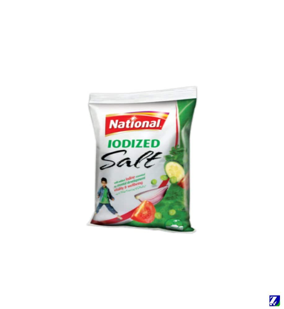 National Iodized Salt 1kg
